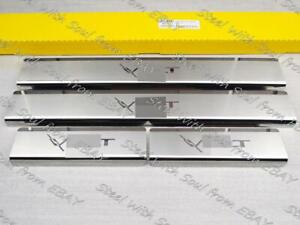 Door sill lining for CHEVROLET VOLT I 2010—2015 Chrome Scuff Plate Cover