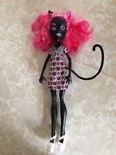 "Monster High 11"" Doll CATTY NOIR BLACK CAT Geek Shriek EXTREMELY RARE!!"