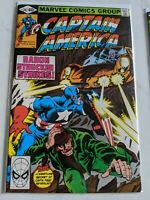 Captain America #247 July 1980 Marvel Comics HIGH GRADE JOHN Byrne