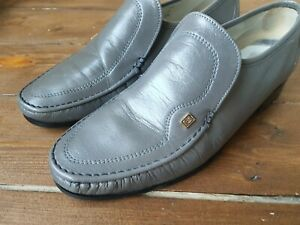 Angus Westley English Hand Made mens Shoes Size 9 Uk Eu 43 Crawford loafers