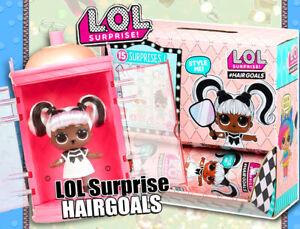 LOL Surprise Doll Hairgoals • Überraschungspuppe • Echthaare, L.O.L, Kult