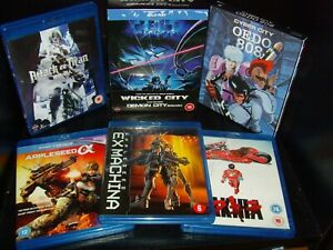 Wicked City, Demon City, Cyber City & more Manga Blu ray Collection