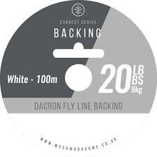 Wychwood Connect SERIE backing line 9.1kg kg Blanco 1000m / Leeda