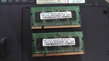 RAM Samsung DDR2 2x1gb kit per portatili