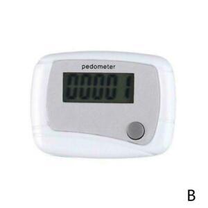 LCD Digital Step Pedometer Walking Calorie Counter Run Clip Distance New Q1K1