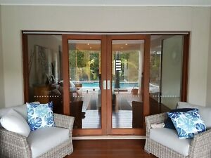 Metricon Canterbury timber Sliding doors external Set 2