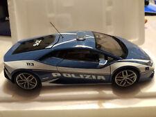 Lamborghini Huracan Lp610-4 Polizia Italiana 2014 Police AUTOART 1:18 AA74609 MM