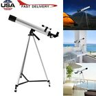 600/50mm Astronomical Refractor Telescope Refractive Eyepieces Tripod Beginners picture