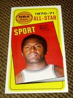 1970/71 Topps Basketball  WILLIS REED ALL STAR CARD #110