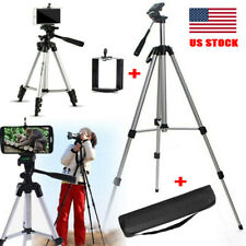 "40"" Professional Camera Tripod Stand Holder Mount Clip Kit for Cell Phone DSLR"