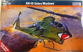 Mistercraft 1/72 AH-1 T Sea Cobra Plastic Model Kit A-011
