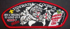 2013 NATIONAL BOY SCOUT JAMBOREE TIDEWATER COUNCIL VENTURE MILITARY ZOMBIE RED
