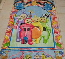 Vintage 1996 Teletubbies Ragdoll TV Series BBC  Single Bed Duvet Cover Italy