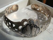 VINTAGE RUSSIAN NIELLO 875 SILVER BRACELET 14.5 gr. has a small crack