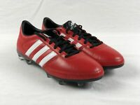 NEW adidas Gloro 16.1 FG - Red/White/Black Cleats (Men's 8)