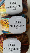 LANG Yarns MILLE COLORI 200 G, verschiedene Farben zur Auswahl