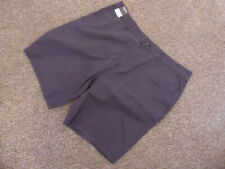 MENS GEORGE SHORTS SIZE 38 WAIST ZIP FLY 4 POCKETS COLOUR DARK GRAY