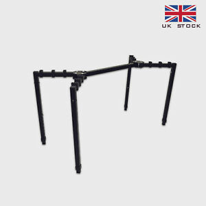 Professional Folding Keyboard/Stage Piano/Mixer T Stand - Adjustable Height