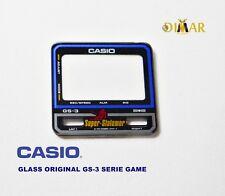 VINTAGE GLASS ORIGINAL  CASIO GS-3 SERIE GAME NOS