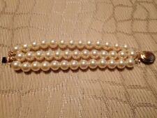 (02797) Armband - Perlen - dreireihig - einfach sehenswert