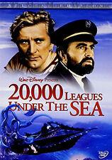 Disney Jules Verne Twenty Thousand 20,000 Leagues Under the Sea 2 Disc DVD Set