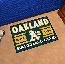 "Oakland Athletics Uniform Inspired 19"" X 30"" Starter Area Rug Floor Mat"
