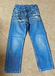Jeans mit verstellbarer Bundweite, Gr. 128