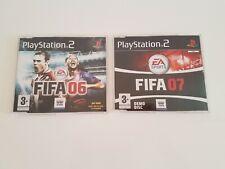 DEMO FIFA 06 + DEMO FIFA 07 SONY PS2 PLAYSTATION 2