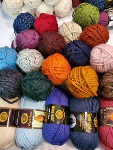Lion Brand Wool Ease Thick & Quick Yarn.  6 oz.  wool/acrylic. 23 color choices.