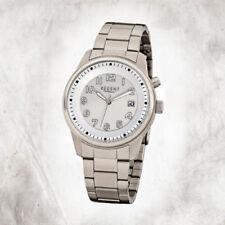 Relojes de pulsera titanio de plata para hombre