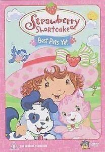 Strawberry Shortcake Best Pets Yet  DVD NEW