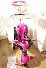 Smart Trike Touch Steering 4-in-1 Safari Ride On - Flamingo