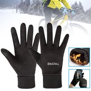 Wasserdicht Sport Handschuhe Touchscreen Winddicht Warm Fingerhandschuhe Outdoor