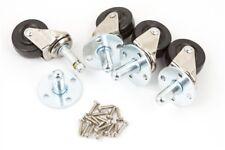Genuine Fender Amplifier Speaker Cabinet Swivel Caster Set 005-6483-000