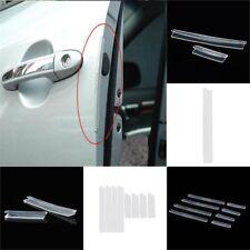 8x autozubehör tür rand wache kratzer streifen beschützer anti-kollision trimmen
