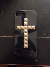 3 Black iPhone 5/5s cases With Gold Studs