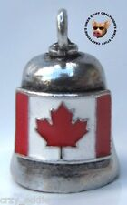CANADIAN MOTORCYCLE GREMLIN RIDE BELL **MADE IN USA** CANADA FLAG
