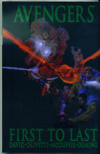 AVENGERS: FIRST TO LAST PREMIERE HC SEALED! AVENGERS CLASSIC LAST AVENGERS STORY