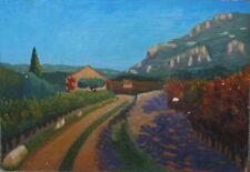 Peintures du XXe siècle et contemporaines sur panneau pour Fauvisme