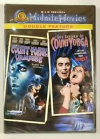 Count Yorga Vampire & The Return of Yorga Cult Horror Double Feature NEW DVD
