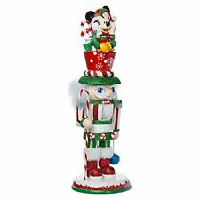 "Kurt Adler 14"" Hollywood Mickey Mouse Nutcracker~Christmas Decor~DISCOUNTED"