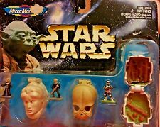Star Wars Micro Machines Mini Head Action Collection IV: Bib Fortuna, Figrin D'a