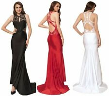 High Neck Dresses Backless