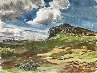 Karl Adser 1912-1995 Sommertag in Norwegen Weite Landschaft Skandinavien