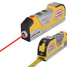 8FT Laser Edge Level Straight Line Guide Horizontal Leveler Measure Tool
