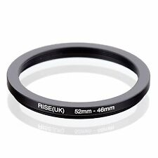 RISE(UK) 52-46mm  52mm-46mm Matel Step Down Ring Filter Adapter