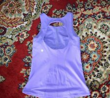 LULULEMON OPEN BACK TANK PURPLE LILAC SZ-4/XS