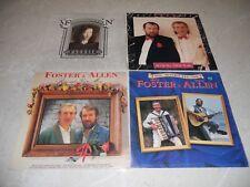 Bulk Various 4 X Foster & Allen LP Albums Folk EX