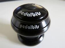 "PEDALBITS External HEADSET 1-1/8"" Threadless Head Set Sealed Bearing-Black"
