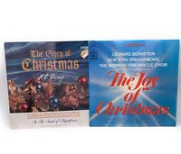 The Joy Of Christmas and the Glory Of Christmas 101 Strings LP Vinyl Records